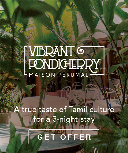 A true taste of Tamil Culture for a 3 night stay.