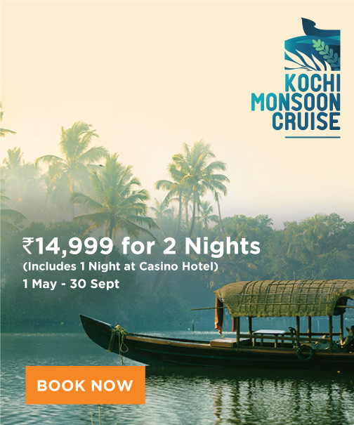 Kochi Monsoon Cruise.